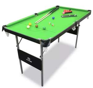 Hy-Pro Snooker and Pool Table - 4ft 6in for £51.99 with click and collect (or +£3.95 delivery) @ Argos