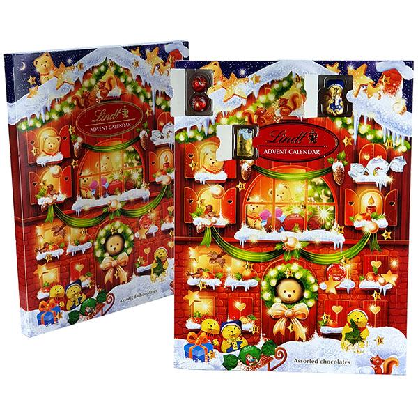 2 X Official Lindt Christmas Countdown Classic Milk Chocolate Advent Calendars £10 @ Yankee Bundles