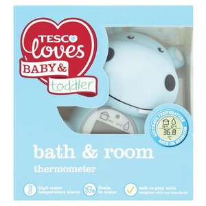 Fred&Flo Bath & Room Thermometer £3.80 @ Tesco