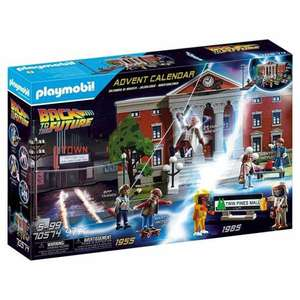 Playmobil Advent Calendar 70574 Back to the Future £14.99 + £3.99 delivery @ The Entertainer