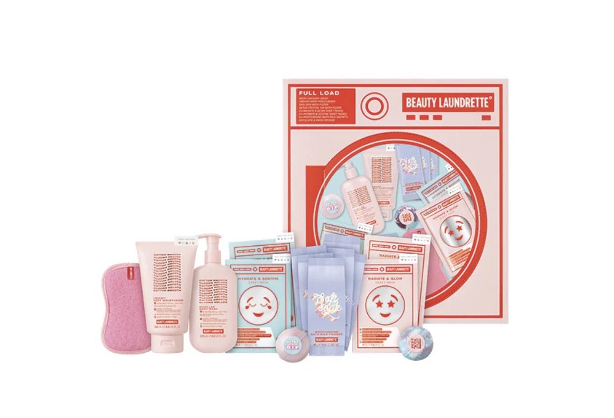 Beauty Laundrette Full Load Pampering Skincare Gift Set for £20 @superdrug