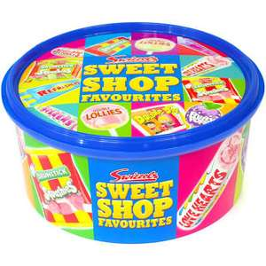 Haribo Share the Fun Sweets Tub / Swizzels Sweet Shop Favourites Tub - 2 for £6 @ Asda
