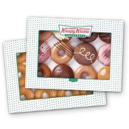 24 x Krispy Kreme donuts for £13.95 with 'Buy one Gift one' - free click & collect @ Krispy Kreme Shop