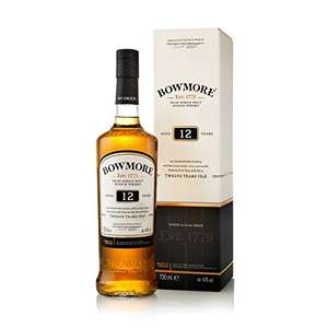 Bowmore Malt Whisky 12 Year Old 70Cl reduced from £34.95 to £25 @ Amazon