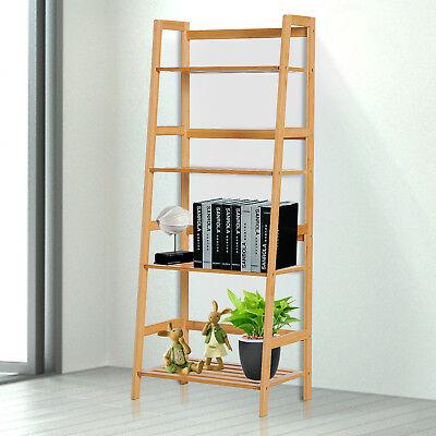 Homcom 4-Tier Bamboo ladder bookcase or utility shelf for £25.49 delivered using code @ eBay / 2011homcom