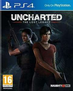 Brand new Uncharted Lost Legacy ps4 £9.49 at eBay uk-tech-spares