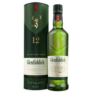 Glenfiddich 12 Year Old whisky £23 instore @ Co-Op (Penkhull, Stoke)