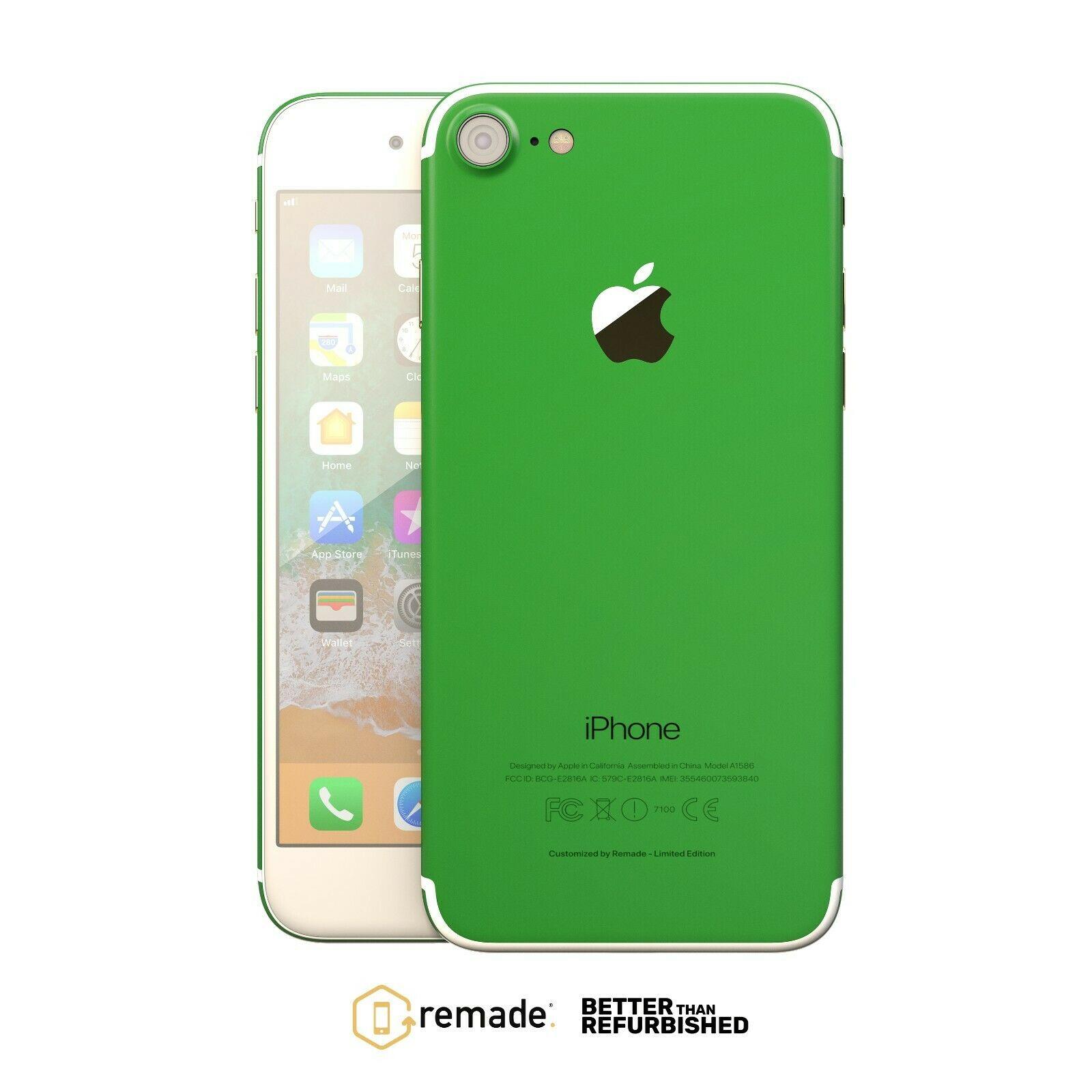 Apple iPhone 7 128GB Unlocked Smartphone in Remade Amazon Moss Colour 12 Months Warranty £152.99 @ StockMustGo / eBay