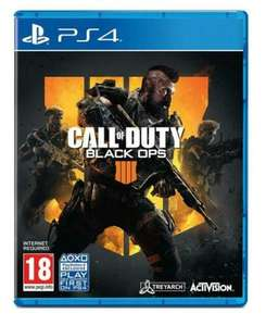 PlayStation 4 : Call of Duty: Black Ops 4 Used - £3.33 @ musicmagpie / ebay