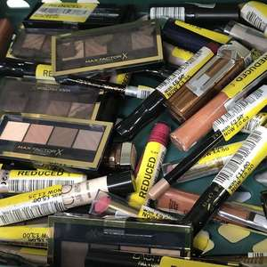 Max Factor, L'Oréal and Maybelline make up half price at Tesco Leigh instore from 63p