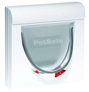PetSafe Staywell, Magnetic Classic Cat Flap, Exclusive Entry, 4 Way Locking - White. £16.99 Prime / £21.48 non-Prime at Amazon