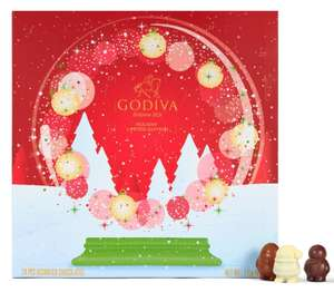 Advent Calendar: Buy one get one free - £20 + £4.95 delivery @ Godiva