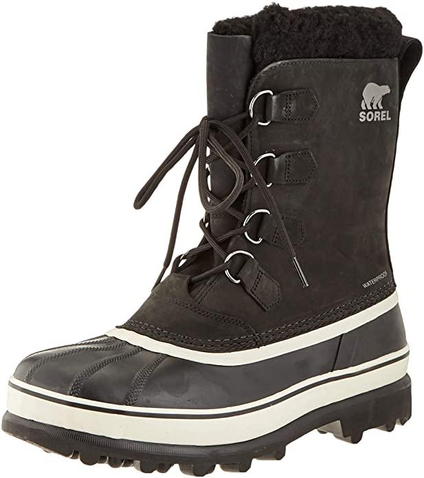 Men's Sorel Caribou snow boots size 10 £54.51 @ Amazon