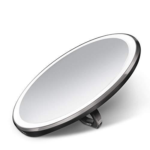 simplehuman 10cm Sensor Mirror Compact, Black Stainless Steel (£89.95 normal price) - £50.80 @ Amazon