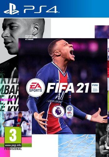 FIFA 21 PS4 Digital Download £37.86 via Compeetive Controller / Eneba