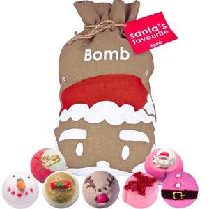 1/3 off the RRP of Bomb Cosmetics Gift Sets, Bath Bomb Crackers £6.66, Advent Calendars £13.33 & more + Free Delivery @ JustMyLook