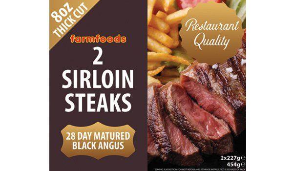 4 steaks for £10 instore @ Farmfoods