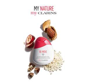 FREE sample of My Clarins Re-Move Radiance Exfoliating Powder at Clarins