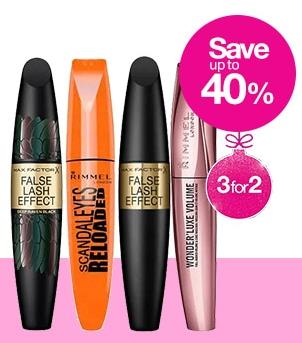 3 Max Factor False Lash Effect Mascara Black for £14.38 (40% off + 3 for 2 on Mascara) @ Superdrug (Free Collection)