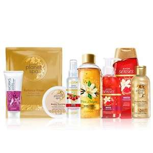 The Sweet & Indulgent Pamper Pack @ Avon - £10 (+£3 Delivery)