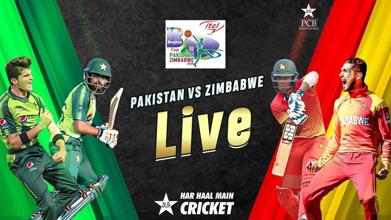 Free Live Twenty20 Cricket, Pakistan v Zimbabwe