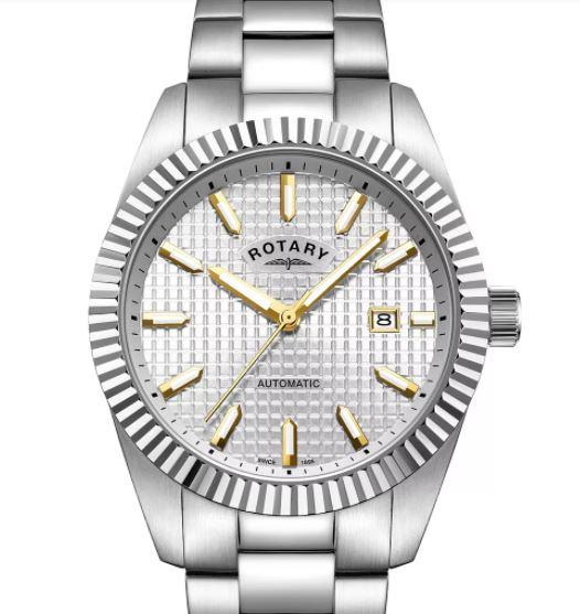Rotary Men's Stainless Steel Bracelet Watch £119.99 at H Samuel