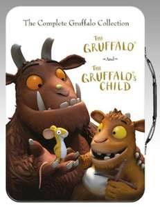 The Gruffalo/The Gruffalo's Child DVD Tin Case Boxset only £5 Delivered @ Zoom