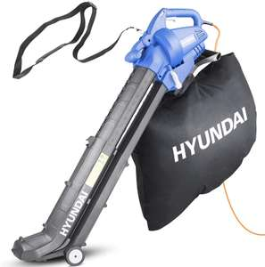 Hyundai HYBV3000E 3000W 3-in-1 Leaf Blower - £34.99 using code + free Click and Collect @ Robert Dyas