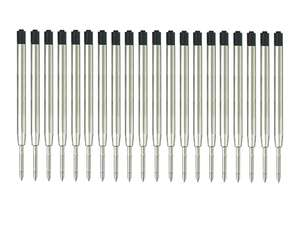 """20 Parker 3.9"""" ball refills - black (mengran) £6.99 Prime (+£3.49 non Prime) Sold by MengRan and Fulfilled by Amazon"""