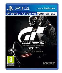 Gran Turismo Day One Edition (PS4) Used - £4.31 Prime (+£2.99 NP) @ Amazon