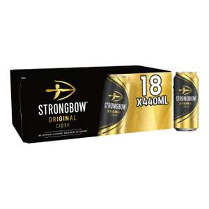 Strongbow Original Cider(18 cans x 440ml) for £9.99 @ Morrisons