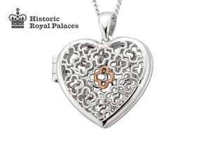 Clogau Silver Tudor Court Locket £63.60 with free delivery