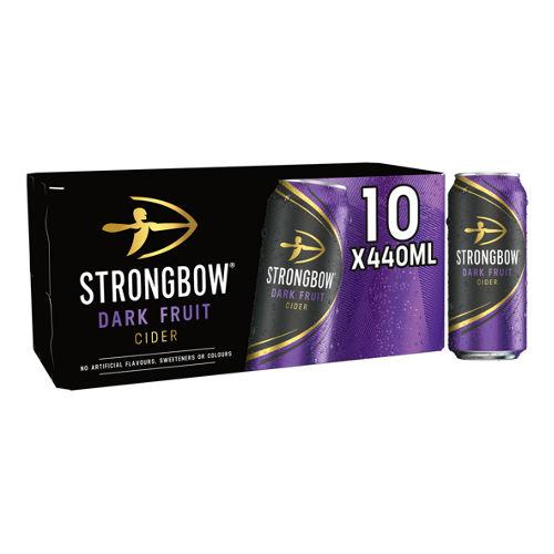 STRONGBOW DARK FRUIT 10 X 440ML £8 @ ASDA