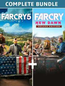 Far Cry New Dawn + Far Cry 5 - Complete Edition - Complete | [PC Code - Uplay] £16.80 @ Amazon
