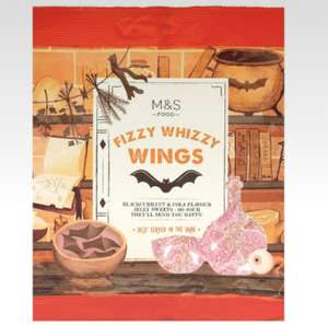Fizzy Bat wings 0.50p and other Halloween Goodies - Half Price at M&S Marble Arch