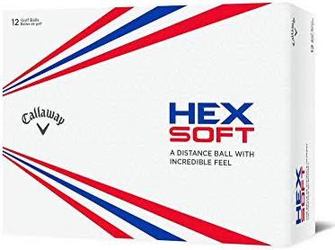Callaway Hex Soft Golf Balls, White (2019) - £14.99 (+£4.49 Non-Prime) @ Amazon