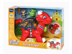 VTech Toot-Toot Friends Daring Dragon Interactive Baby Musical Toy, Dragon Toddler Toy w/Music & Sound Effects - £14.99 (+£4.49 NP) @ Amazon
