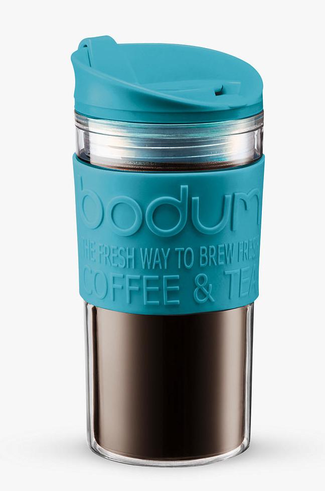 BODUM Double Walled Travel Mug, 350ml, Blue for £2.50 (+£2 c&c) @ John Lewis