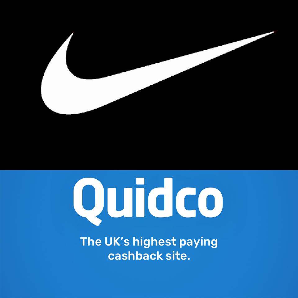 £5 Cashback Bonus on £50 Spend at Nike @ Quidco