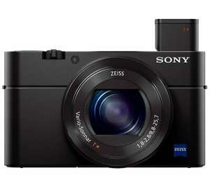 SONY Cyber-shot DSC-RX100 III High Performance Compact Camera - Black - £279.97 at Currys Ebay