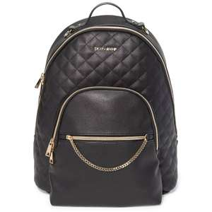 Skip Hop Linx Quilted Chic Changing Bag, Backpack - Black Now £34.95 + £2.95 Delivery From Online4baby
