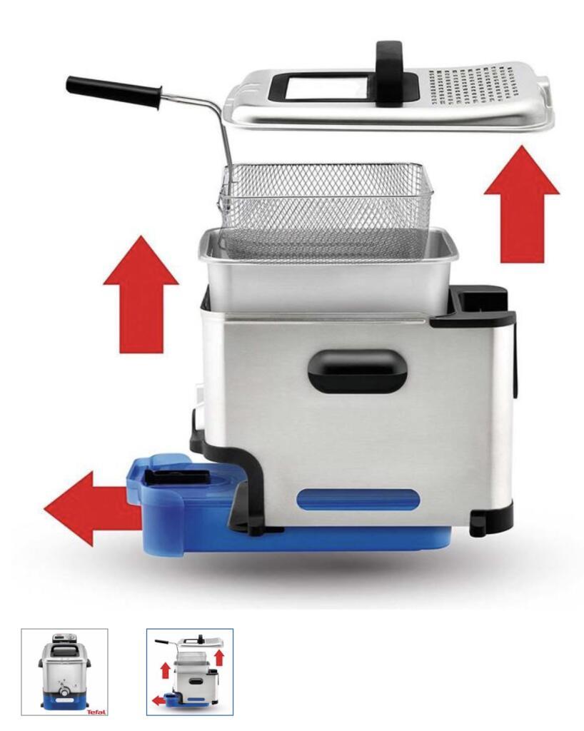 Tefal Oleoclean Pro Fryer FR804040 - £77.98 @ Costco - Sale Price