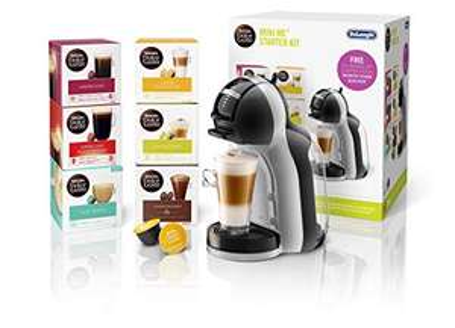 De'Longhi Nescafé Dolce Gusto Mini Me Starter Kit (Including 6 boxes of Coffee Pods) £47.30 at Amazon