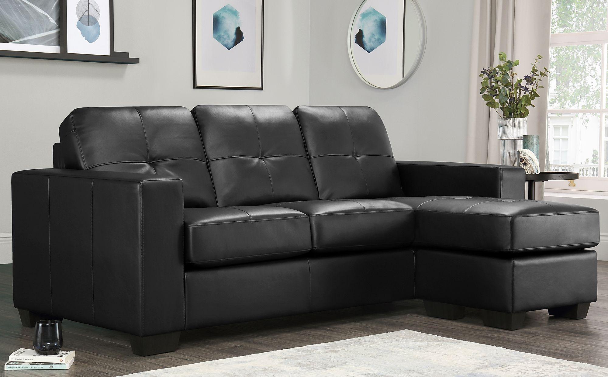 Rio 3 seater Leather Corner Sofa £499.99 at Furniture Choice
