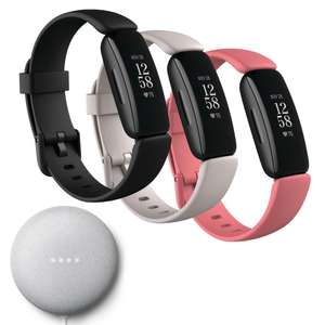 Fitbit Inspire 2 In a choice of 3 colours + Free Google Nest Mini - £89.99 Delivered @ Currys