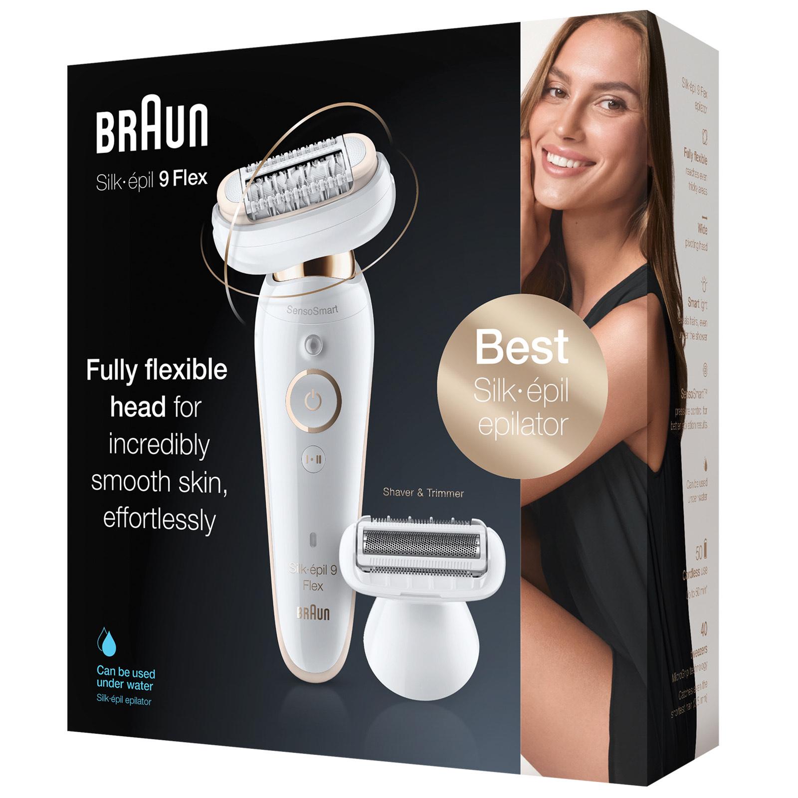 Braun Silk Epil 9 9002 Flex Wet & Dry Epilator for £118.45 with code @ AllBeauty