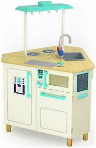 Was £54 now £30 Chad Valley Triangle Wooden Toy Kitchen - £29.99 @ eBay / Argos