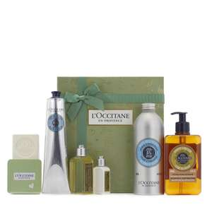 L'Occitane 6 Piece Bath & Body Gift Collection £53.43 & 4 Easy Pays (if new & not using easy pays use code FIVE4U to £5 off) @ QVC