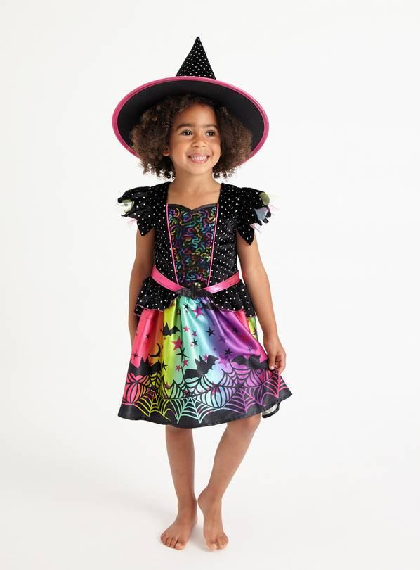 Halloween Glitter Witch costume £1 at Argos