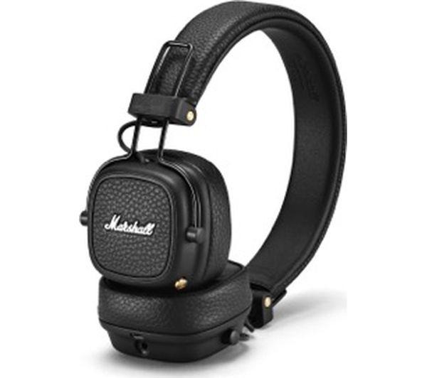 MARSHALL Major III Wireless Bluetooth Headphones - Black £49 @ Currys ( Black Friday deal)